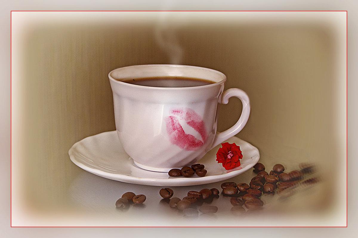 Красивые открытки доброе утро с поцелуем