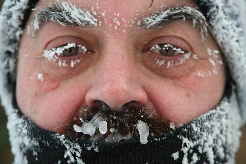 Картинка с сосулькой на носу