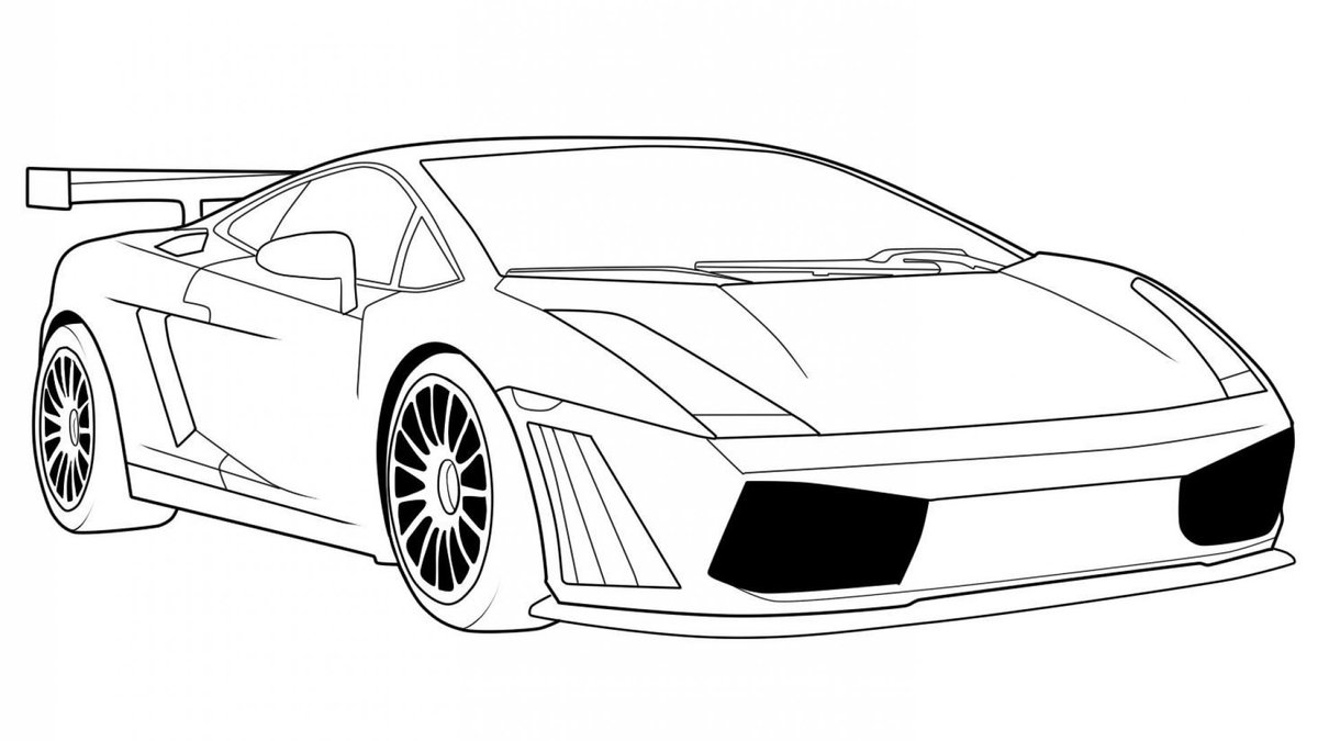 Крутые машины рисунок карандашом, картинки про