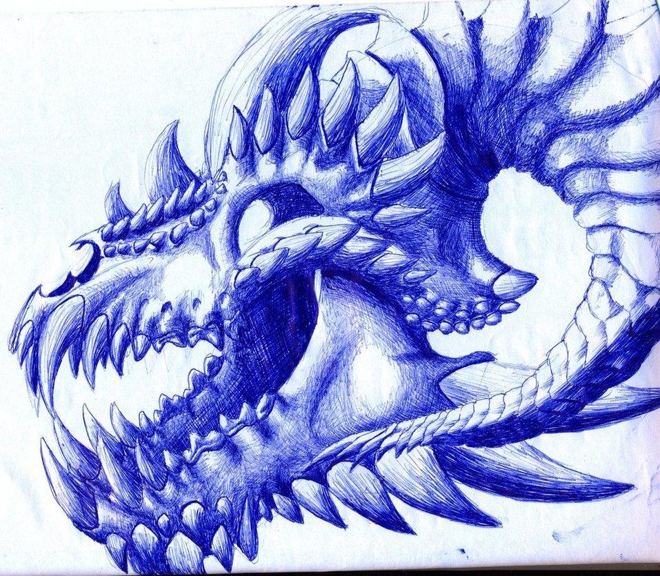Крутые рисунки драконы