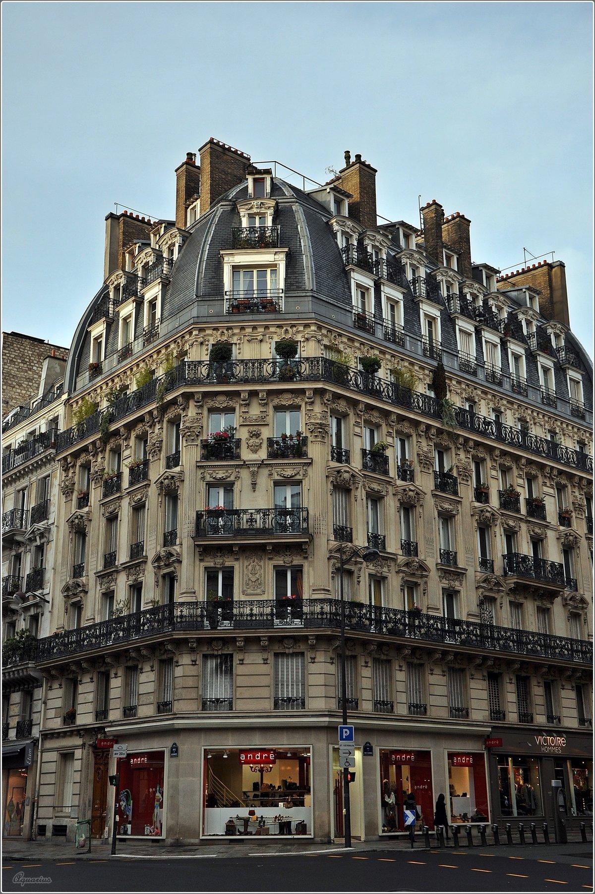Дом в париже картинки