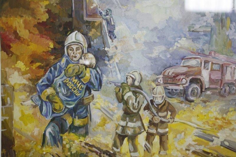 Рисунки к дню спасателя