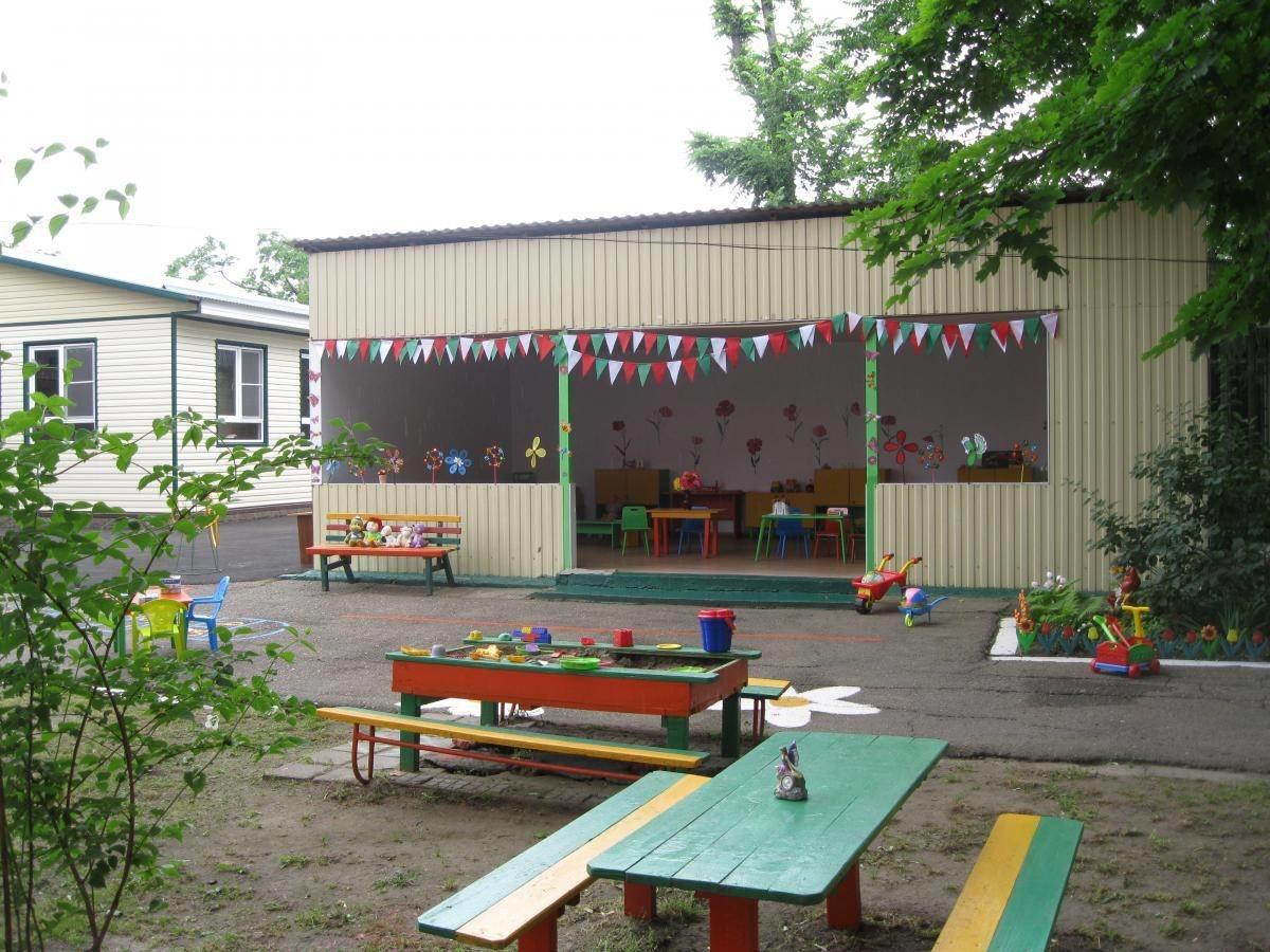 Беседка в детском саду оформление фото