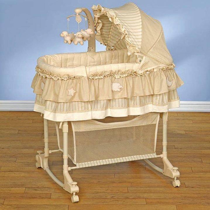 Кроватка люлька для новорожденного: как выбрать и купить.