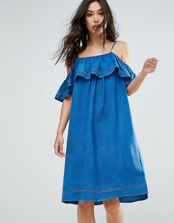 a599aeab3b3 40 карточек в коллекции «Женское джинсовое платье миди» пользователя ...