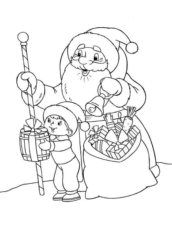 Картинки на новогоднюю тему нарисованные карандашом, недовольные