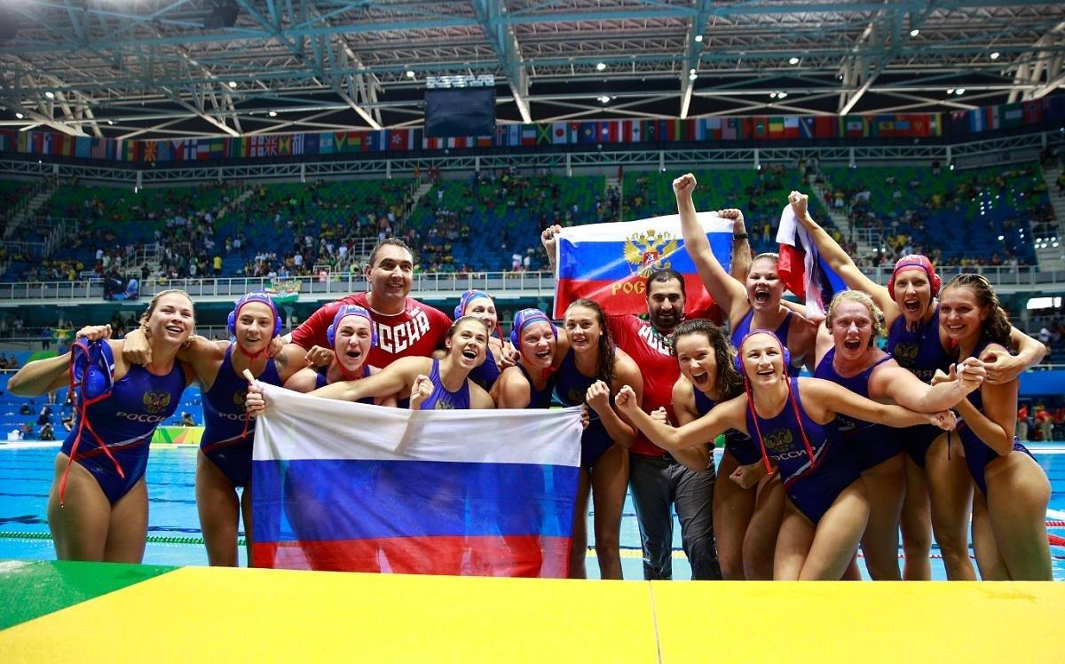 женская сборная россии по водному поло фото фаза