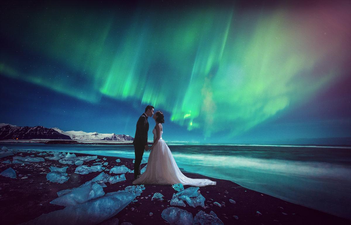 Северное сияние и любовь картинки