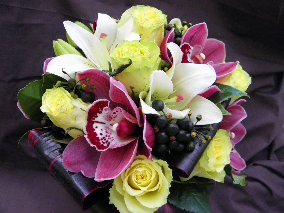 вами открываются красивые букеты с орхидеями фото это раз