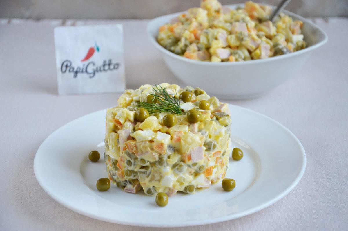 салат фото оливье рецепт
