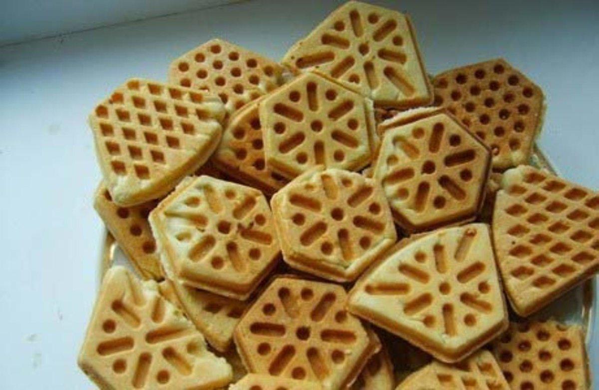 Печенье в сковороде форме рецепт с фото