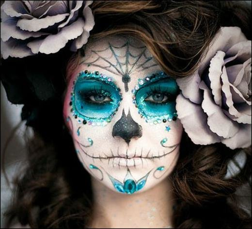 макияж на хэллоуин своими руками
