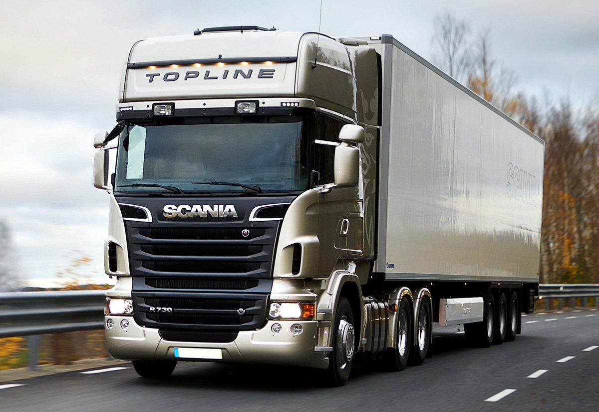 Картинки грузовиков скания