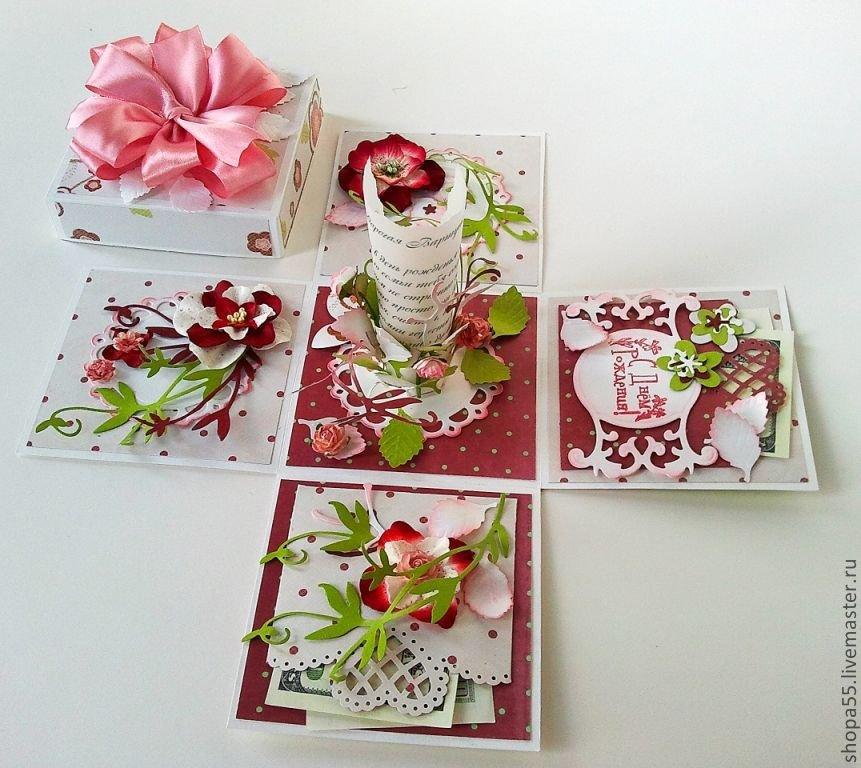 Видео февраля, скрапбукинг открытки коробочка