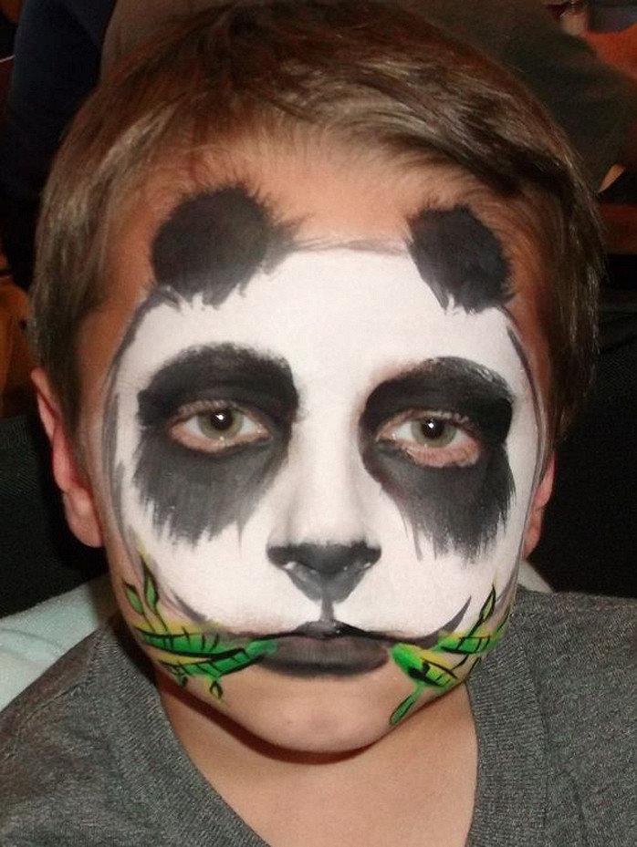 Панда аквагрим картинки