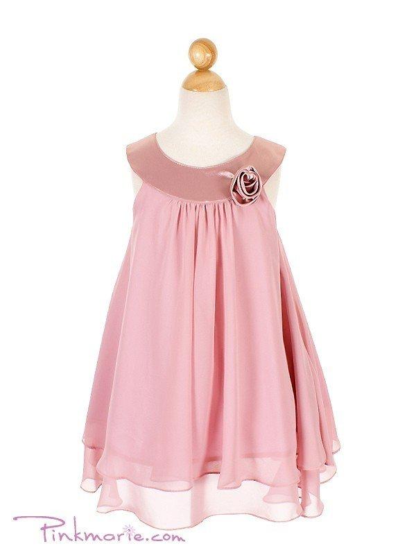 простое но нарядное платье для девочки