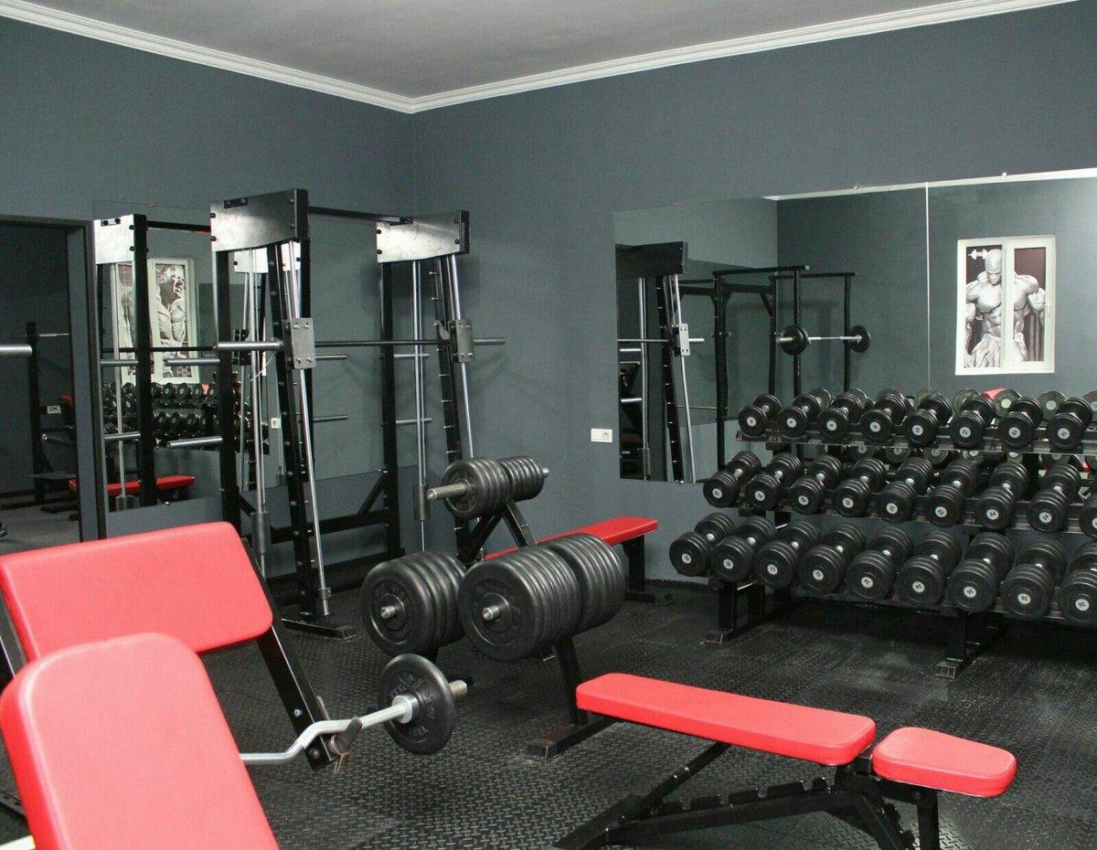 Фитнес залы в картинках