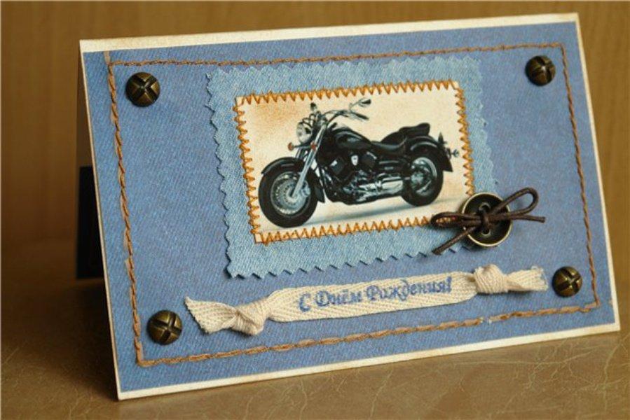 Открытка скрапбукинг с днем рождения для мужчин, поздравлением новорожденного