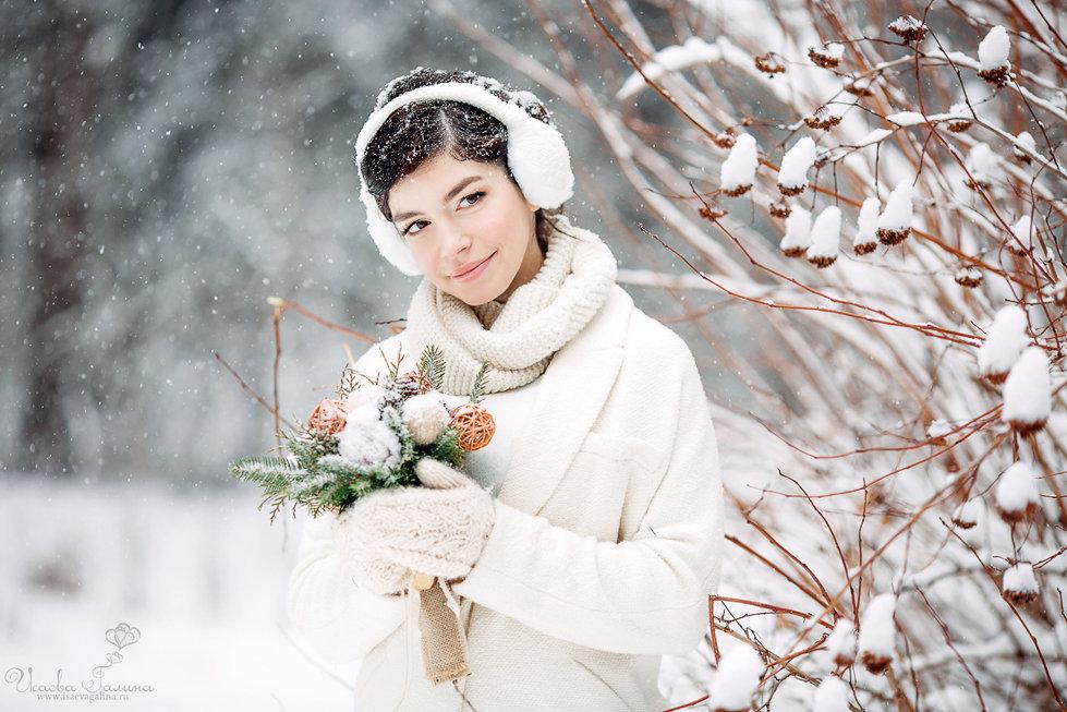 макияж для зимней фотосессии на улице лично считаю любительниц