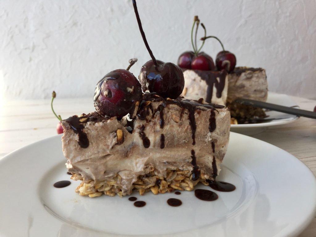 шоколадный чизкейк без выпечки рецепт с фото улице весна