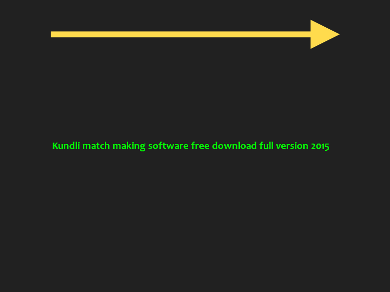 kundli software for match making free download