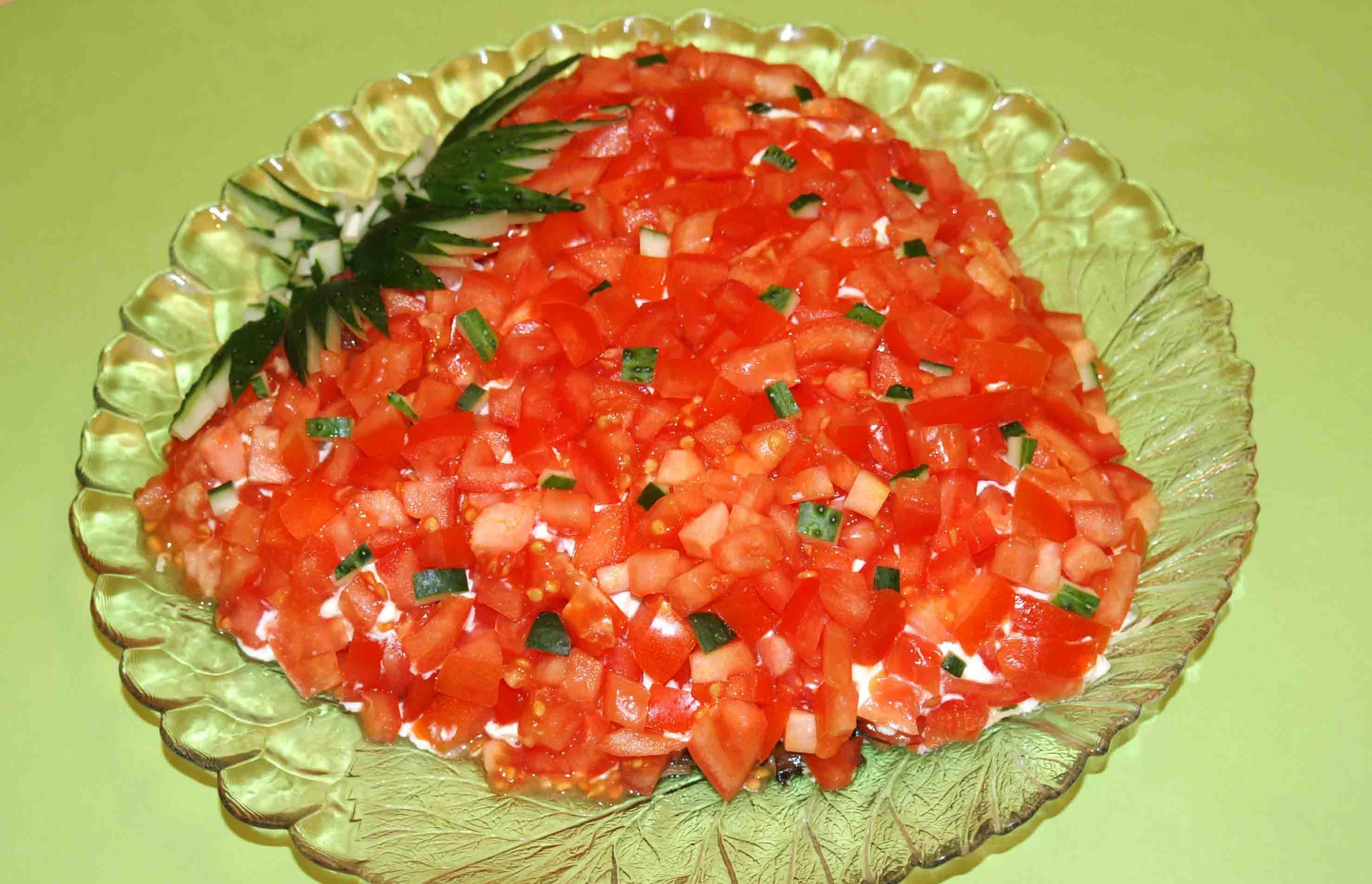 Рецепт салата простого праздничного