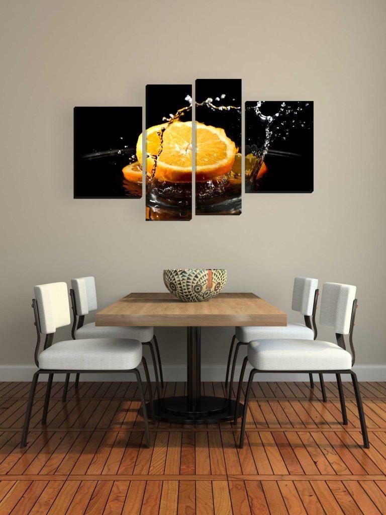 искусство модульная картина для кухни ведущего