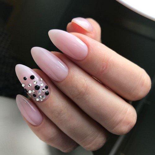Дизайны ногтей фото овал