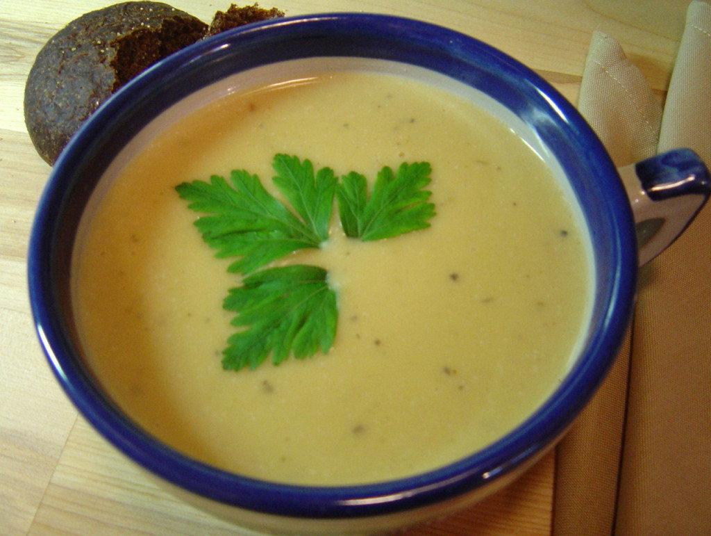 суп пюре из капусты белокочанной с картошкой