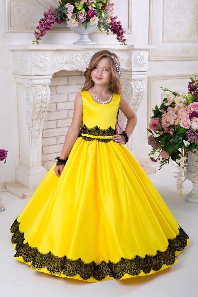 нарядное платье на выпускной для детей