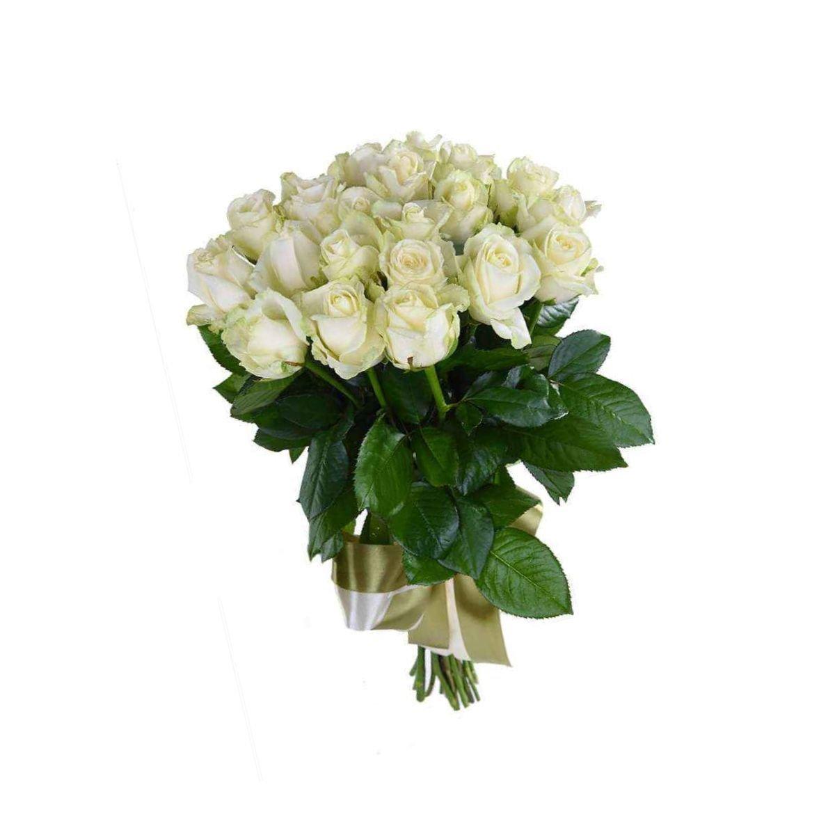 Букет из белых 25 белых роз (букет, опт цветов стерлитамак