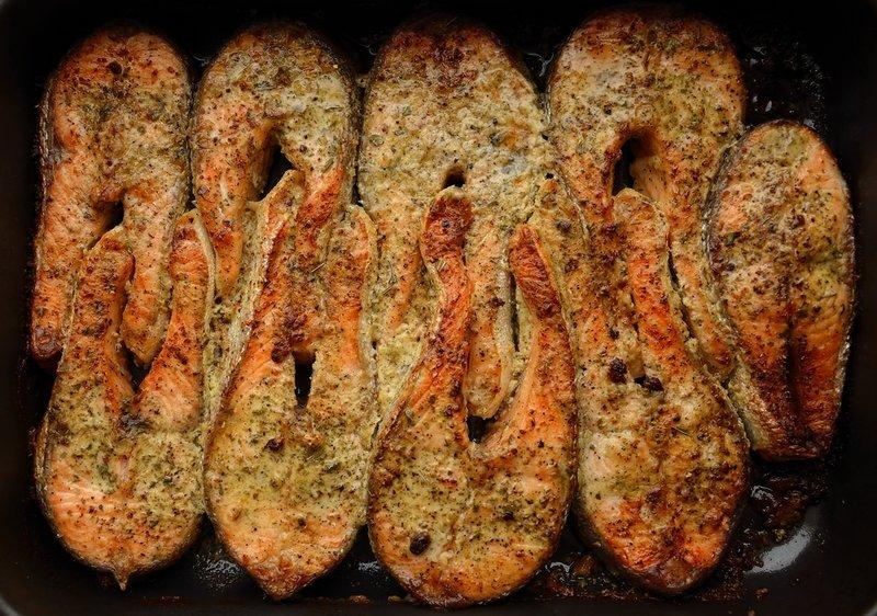 форель запеченная стейками в духовке в фольге рецепт с фото