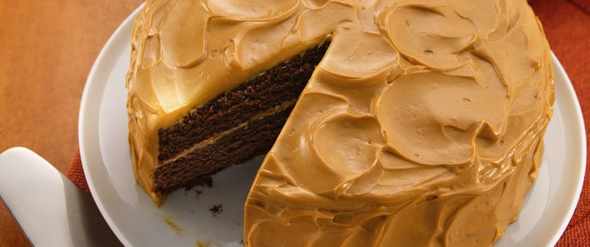 Мягкий и нежный торт со вкусом сгущенки рецепт