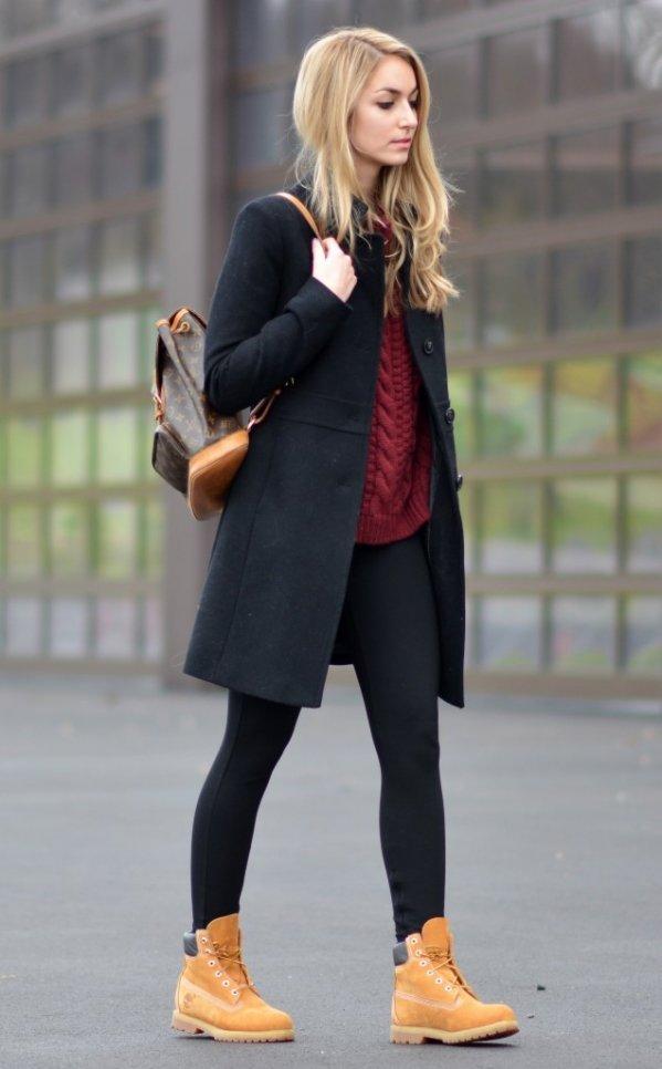 как одевают ботинки на какие одежды фото почти