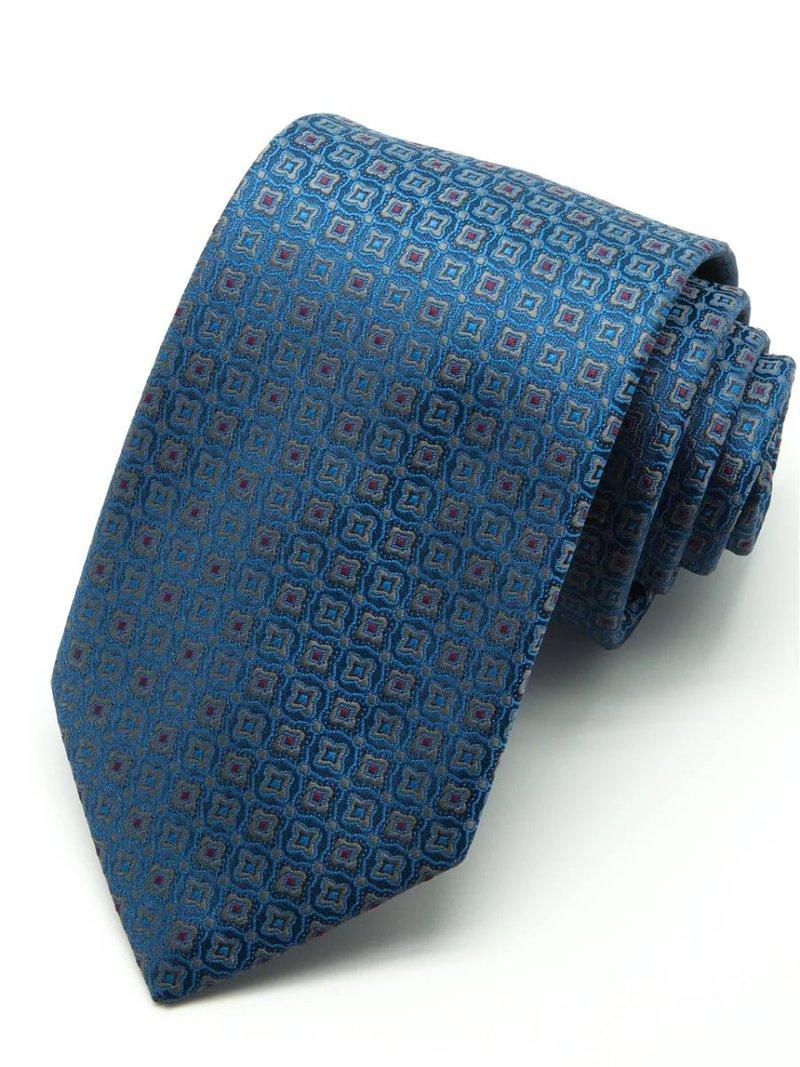 Celine красно оранжевый галстук в мелкий узор с лого celine
