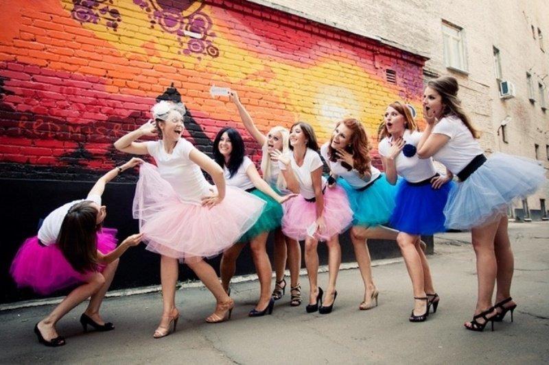 как одеться на девичник фото