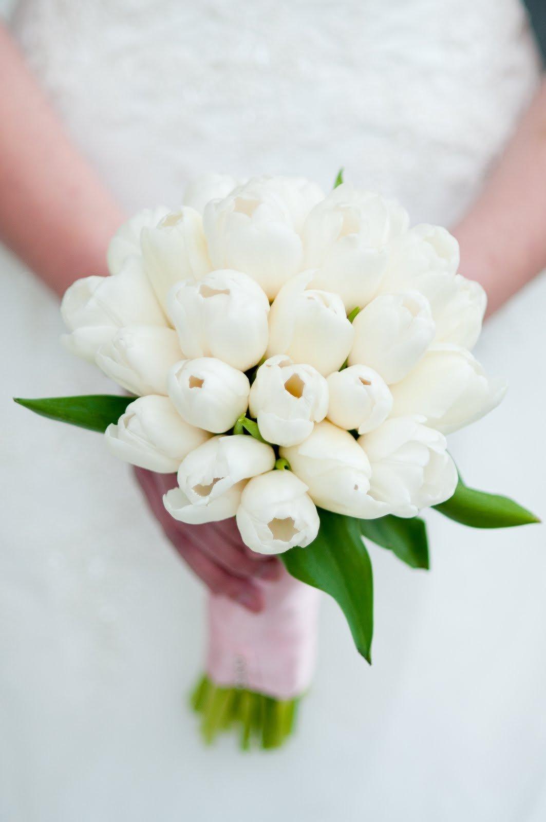 Сколько тюльпанов в свадебном букете