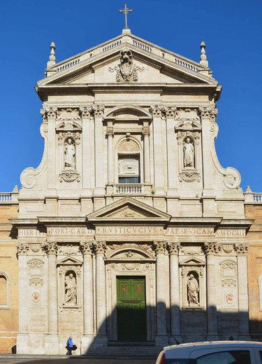 карло мадерна фасад римской церкви санта-сусанна