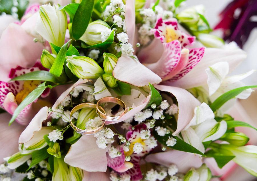 Цветы фото на свадьбу открытка