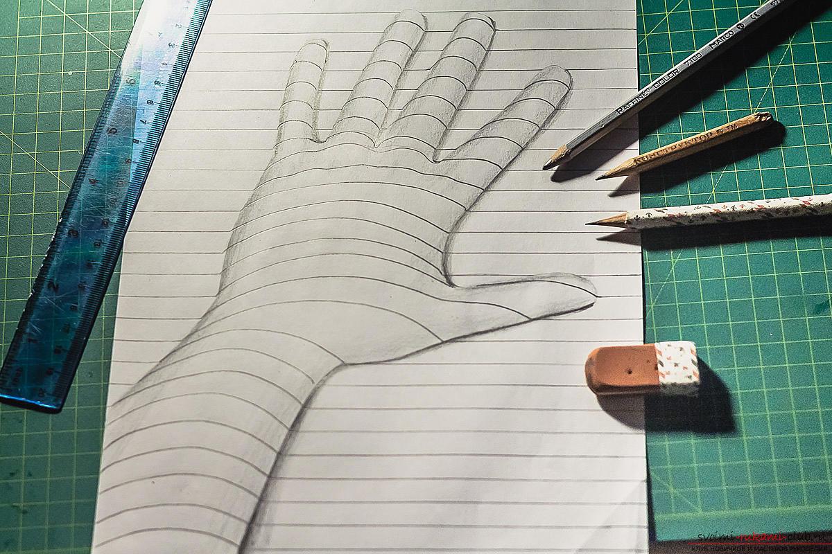 Рисунок своими руками картинки