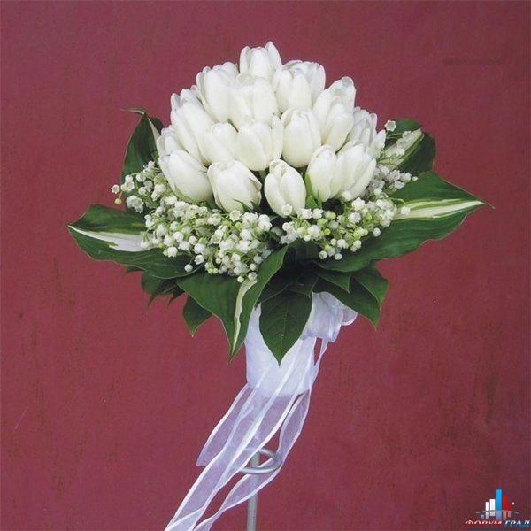Роз штука, свадебные букеты с ландышами и тюльпанами фото