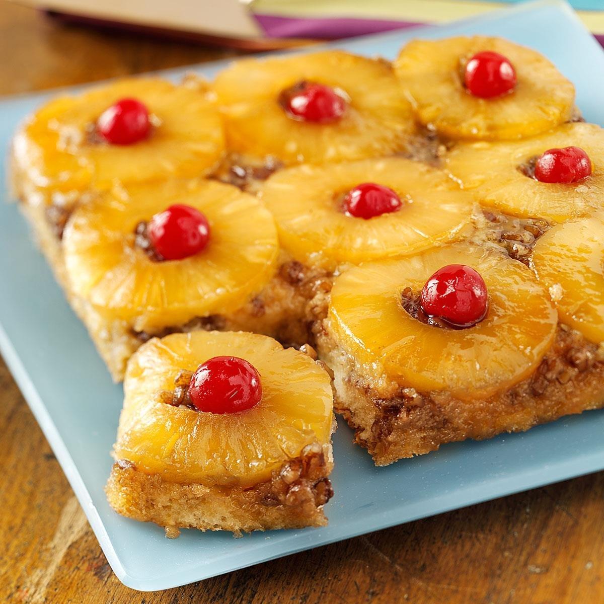 помощью этого ананасовый пирог рецепт с фото керри