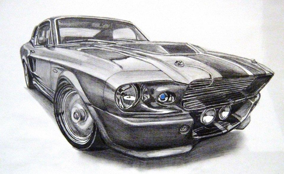 Машины нарисованные карандашом картинки, мужчинам женщин юбилеем
