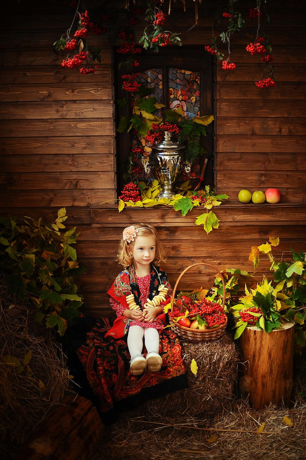 осенние локации для фото дня детям пусть