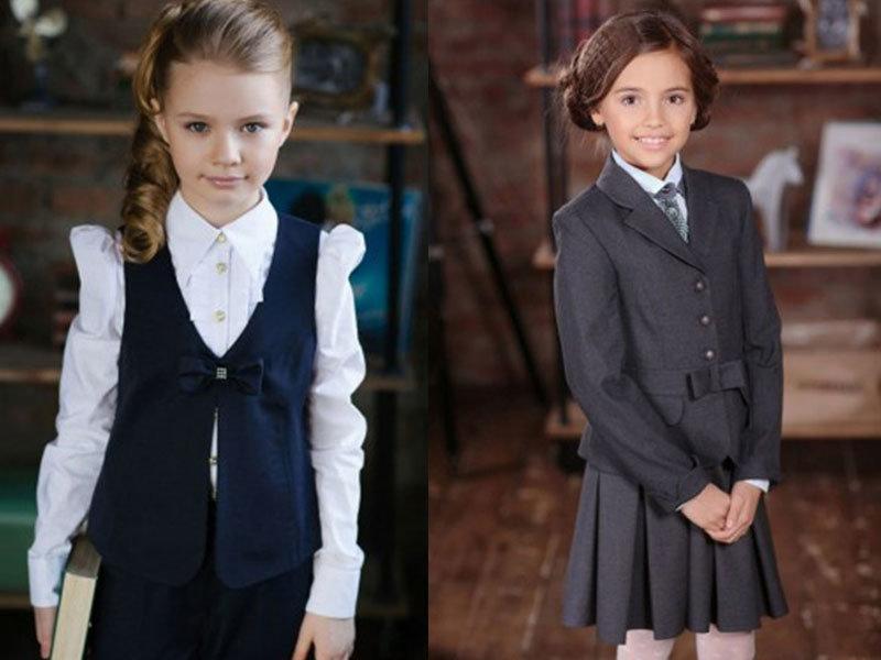 Маленькая леди в школе