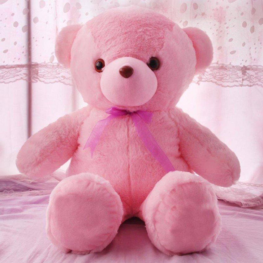 Розовый мишка картинки, открытка