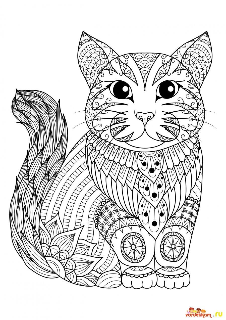 «Раскраски антистресс кошки » — карточка пользователя ...