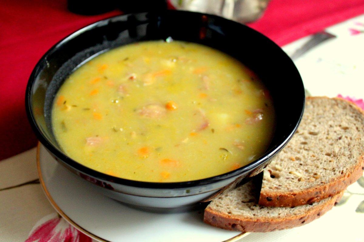 рецепт диетического горохового супа