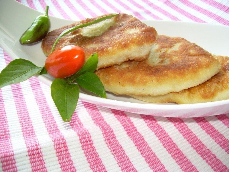 Вкусные пирожки с картошкой жареные с фото