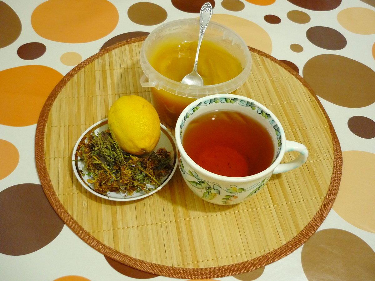 Картинка чай с лимоном и медом